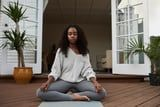 Meditate, Move, and Practice Self-Care With This 20-Minute Mindful Workout