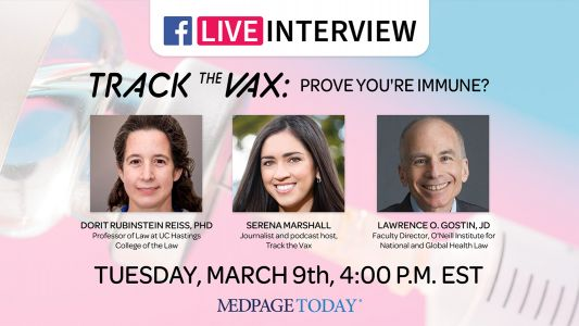 Track the Vax: Prove You're Immune?