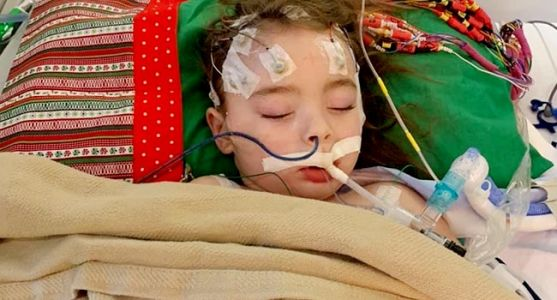 4-Year-Old May Lose Vision After Battling Flu