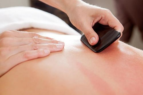 Chronic lower back pain can be reduced with Gua Sha therapy