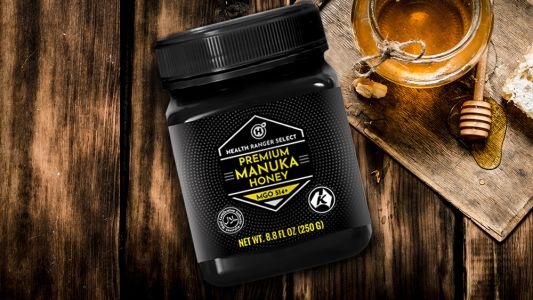 Manuka Honey: Today we're launching a glyphosate-tested, laboratory-verified, high-potency premium raw Manuka Honey for health, first aid and preparedness