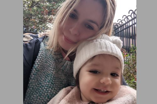 'Becoming a mum has made having cancer a lot worse. I don't want to die'