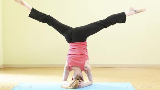 Headstand yoga DOES NOT increase blood flow to the brain, study finds