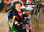 Parents urge officials to approve drugs to treat the condition crippling their five-year-old son