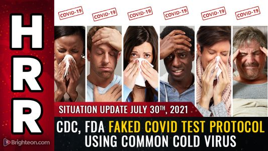 """BREAKING: CDC, FDA faked """"covid"""" testing protocol by using human cells mixed with common cold virus fragments. PCR tests are merely detecting the common cold"""