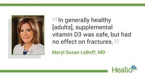 VITAL: No fracture risk reduction with supplemental vitamin D