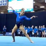 Piano Keys and Floor Creaks: This Gymnast's Sound-Effects Floor Routine Is Such a Cool Watch