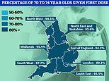 Britain's vaccine postcode lottery 'means healthy adults in their TWENTIES are getting jabs'