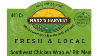 Producer recalls Marketside brand salads for risk of contaminated corn