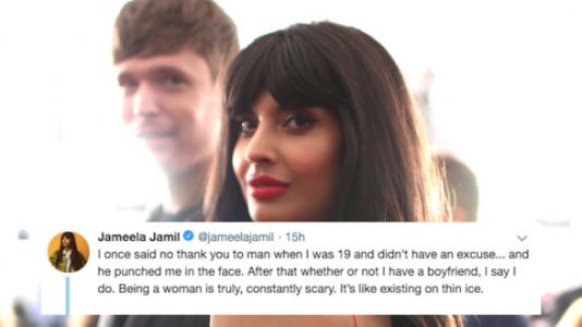 Jameela Jamil Is Uniting Women On Twitter Over Unwanted Advances From Men