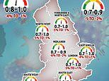 Covid-19 R rate may risen to above one in the South West