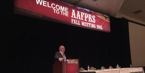 Dr. Silver Sculpts the Future of Facial Plastic Surgery at the AAFPRS 2015 Fall Meeting