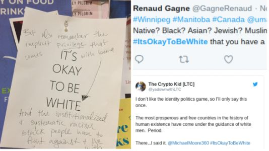 Racist 'It's Okay To Be White' Flyers Posted On Several College Campuses