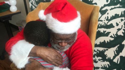 Why We Always Visit Black Santa