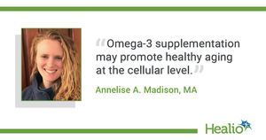 Omega-3 supplementation may slow stress-related accelerated aging
