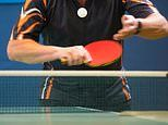 Playing table tennis may 'slow down Parkinson's disease because it sharpens patients' reflexes'