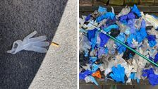 Please Stop Throwing Your Used Gloves And Masks On The Ground