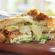 Grilled Cheese with Avocado & Basil