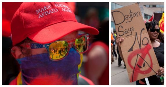 9 People Showed Up At A KKK Rally In Dayton, 600 Showed Up To Protest