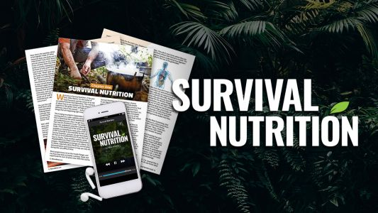 Survival Nutrition audio book LAUNCHED: Free download - 8 hours of audio mp3 plus PDF reference transcript - get it here