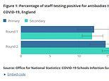 Teachers are NOT more at risk of catching Covid, ONS data finds