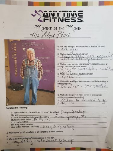 Allow This Overall-Wearing 91-Year-Old Gym-Goer To Be Your Workout Inspiration
