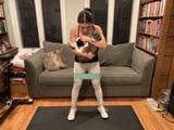 I Tried This Booty Workout With My Cat - and Yes, You Read That Right