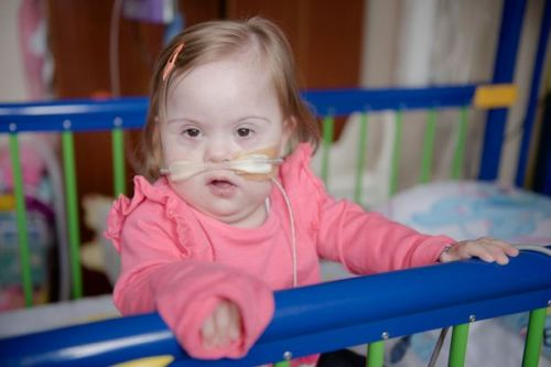 The little girl who spent her entire life in hospital