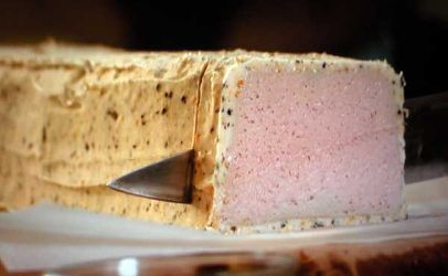Campylobacter in chicken liver parfait nearly killed British man