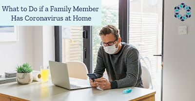 What to Do if a Family Member Has Coronavirus at Home