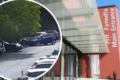 Hospital staff are having their cars stolen or stripped of parts while they work