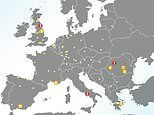 Scientists reveal where the most polluted air is in Europe