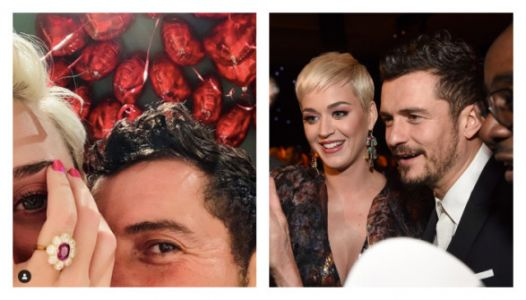 Katy Perry And Orlando Bloom Got Engaged And Her Ring Is Stunning