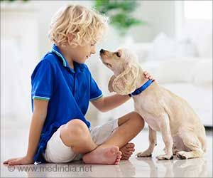 Petting Therapy Dogs as Stress Buster