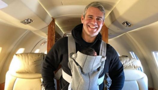 Andy Cohen describes seeing son Benny for the 1st time