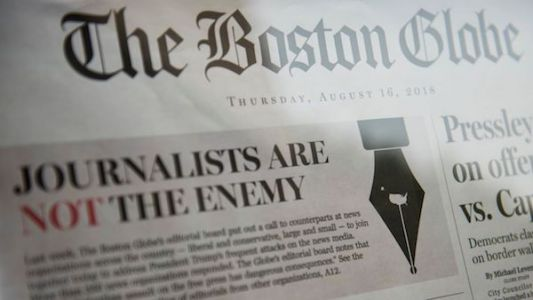 Over 300 Newspapers Reject Trump's Attacks: 'Journalists Are Not The Enemy'