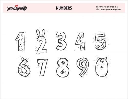You Can Count On These 10 Number Coloring Pages For Some Serious Fun
