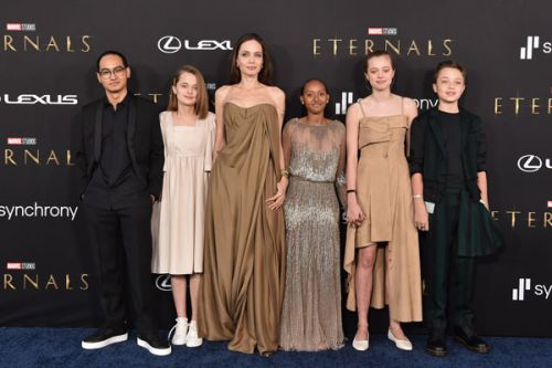 Angelina Jolie's Kids Slay In Rare Red Carpet Appearance