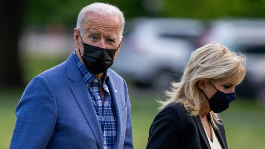 "Adviser claims Biden STILL MASKING ""out of habit"" despite being fully vaccinated"