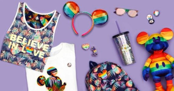 Disney Dropped The CUTEST Rainbow Merch For Pride Month