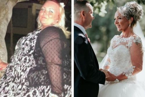 The bride who lost an incredible 10 stone before her wedding day