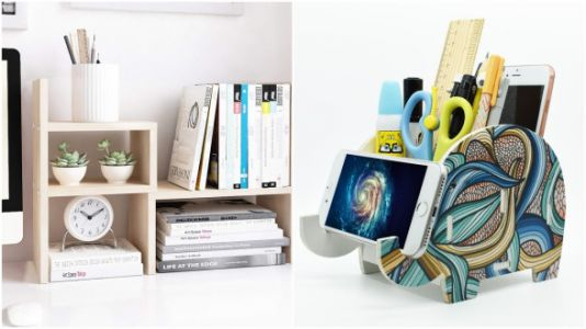 Get Organized With These Super Helpful Desk Essentials
