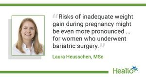Data support avoiding pregnancy for 1 year after bariatric surgery