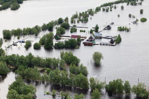 Flooding in West China submerges villages, destroys crops