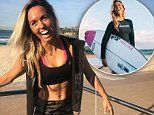 Surf champion Sally Fitzgibbons shares her 10 second trick to beating dreaded flu this winter season