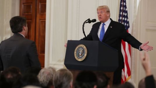 Jim Acosta And CNN Are Suing Trump And Several Of His Aides