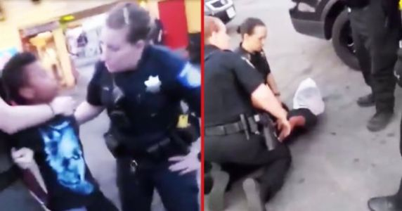 Shocking Video Of Police Arresting A 12-Year-Old Boy Goes Viral