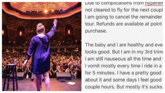 Amy Schumer Cancels Tour Due To Severe Pregnancy Illness