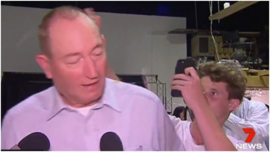 Teen Throws Egg At Australian Senator Who Blamed Mosque Shooting On Muslims