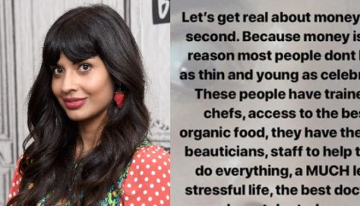 Jameela Jamil Points Out What's REALLY Behind All That Celebrity Beauty